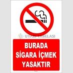ZY1295 - Burada sigara içmek yasaktır