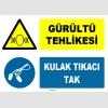 ZY1314 - Gürültü Tehlikesi, Kulak Tıkacı Tak