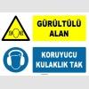 ZY1317 - Gürültülü Alan, Koruyucu Kulaklık Tak