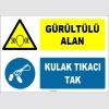 ZY1319 - Gürültülü Alan, Kulak Tıkacı Tak