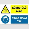ZY1323 - Gürültülü Alan, Kulak Tıkacı Tak