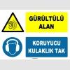 ZY1322 - Gürültülü Alan, Koruyucu Kulaklık Tak