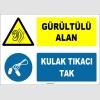ZY1324 - Gürültülü Alan, Kulak Tıkacı Tak