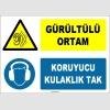 ZY1325 - Gürültülü Ortam, Koruyucu Kulaklık Tak