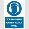 ZY1340 - Otoklav çalışırken koruyucu kulaklık takınız