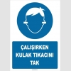 ZY1350 - Çalışırken kulak tıkacını tak