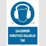 ZY1352 - Çalışırken koruyucu kulaklık tak
