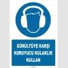 ZY1353 - Gürültüye karşı koruyucu kulaklık kullan