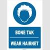 ZY1370 - Türkçe İngilizce, Bone Tak, Wear Hairnet