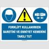 ZY1408 - Forklift kullanırken baretini ve emniyet kemerini takılı tut