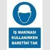 ZY1406 - İş Makinası Kullanırken Baretini Tak