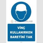 ZY1407 - Vinç Kullanırken Baretini Tak