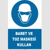 ZY1455 - Baret ve toz maskesi kullan