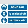 ZY1502 - Bone Tak, İş Elbisesi Giy, Eldiven Giy