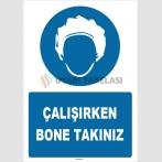 ZY1508 - Çalışırken Bone Takınız