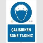 ZY1509 - Çalışırken Bone Takınız
