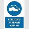 ZY1524 - Koruyucu ayakkabı kullan