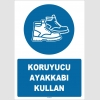 ZY1525 - Koruyucu ayakkabı kullan