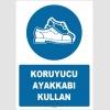 ZY1527 - Koruyucu ayakkabı kullan