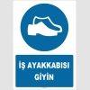 ZY1538 - İş ayakkabısı giyin
