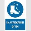 ZY1540 - ISO 7010 İş ayakkabısı giyin