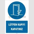 ZY1551 - Lütfen kapıyı kapatınız