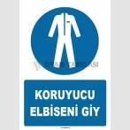 ZY1562 - IS0 7010 Koruyucu Elbiseni Giy