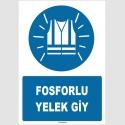 ZY1573 - Fosforlu Yelek Giy