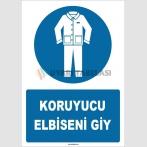 ZY1603 - Koruyucu Elbiseni Giy
