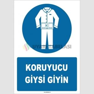 ZY1641 - Koruyucu Giysi Giyin