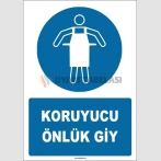 ZY1708 - ISO 7010 Koruyucu Önlük Giy