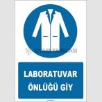 ZY1729 - Laboratuvar Önlüğü Giy
