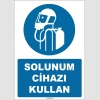 ZY1756 - ISO 7010 Solunum Cihazı Kullan