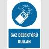ZY1761 - ISO 7010 Gaz Dedektörü Kullan