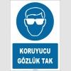 ZY1772 - Koruyucu Gözlük Tak