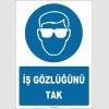 ZY1780 - İş Gözlüğünü Tak