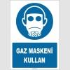 ZY1797 - ISO 7010 Gaz Maskeni Kullan