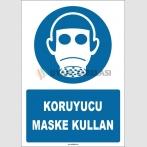 ZY1805 - ISO 7010 Koruyucu Maske Kullan