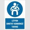 ZY1813 - Lütfen Emniyet Kemerinizi Takınız