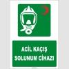 ZY1819 - ISO 7010 Acil Kaçış Solunum Cihazı