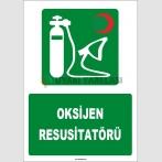 ZY1824 - ISO 7010 Oksijen Resusitatörü
