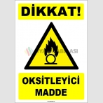 ZY1837 - ISO 7010 Dikkat Oksitleyici Madde