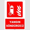 ZY1929 - ISO 7010 Tekerlekli Yangın Söndürücü