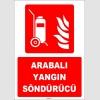 ZY1934 - ISO 7010 Arabalı Yangın Söndürücü