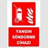 ZY1935 - ISO 7010 Tekerlekli Yangın Söndürme Cihazı