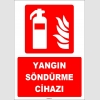 ZY1936 - ISO 7010 Yangın Söndürme Cihazı