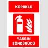 ZY1939 - ISO 7010 Köpüklü Yangın Söndürücü