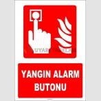 ZY1976 - ISO 7010 Yangın Alarm Butonu