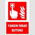 ZY1977 - ISO 7010 Yangın İhbar Butonu