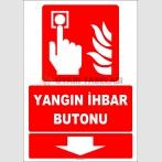ZY1978 - ISO 7010 Yangın İhbar Butonu, Aşağıda